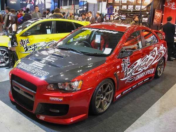 Modifikasi Mobil Mitsubishi Lancer evo 4