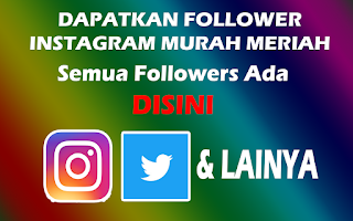 Followers Murah meriah