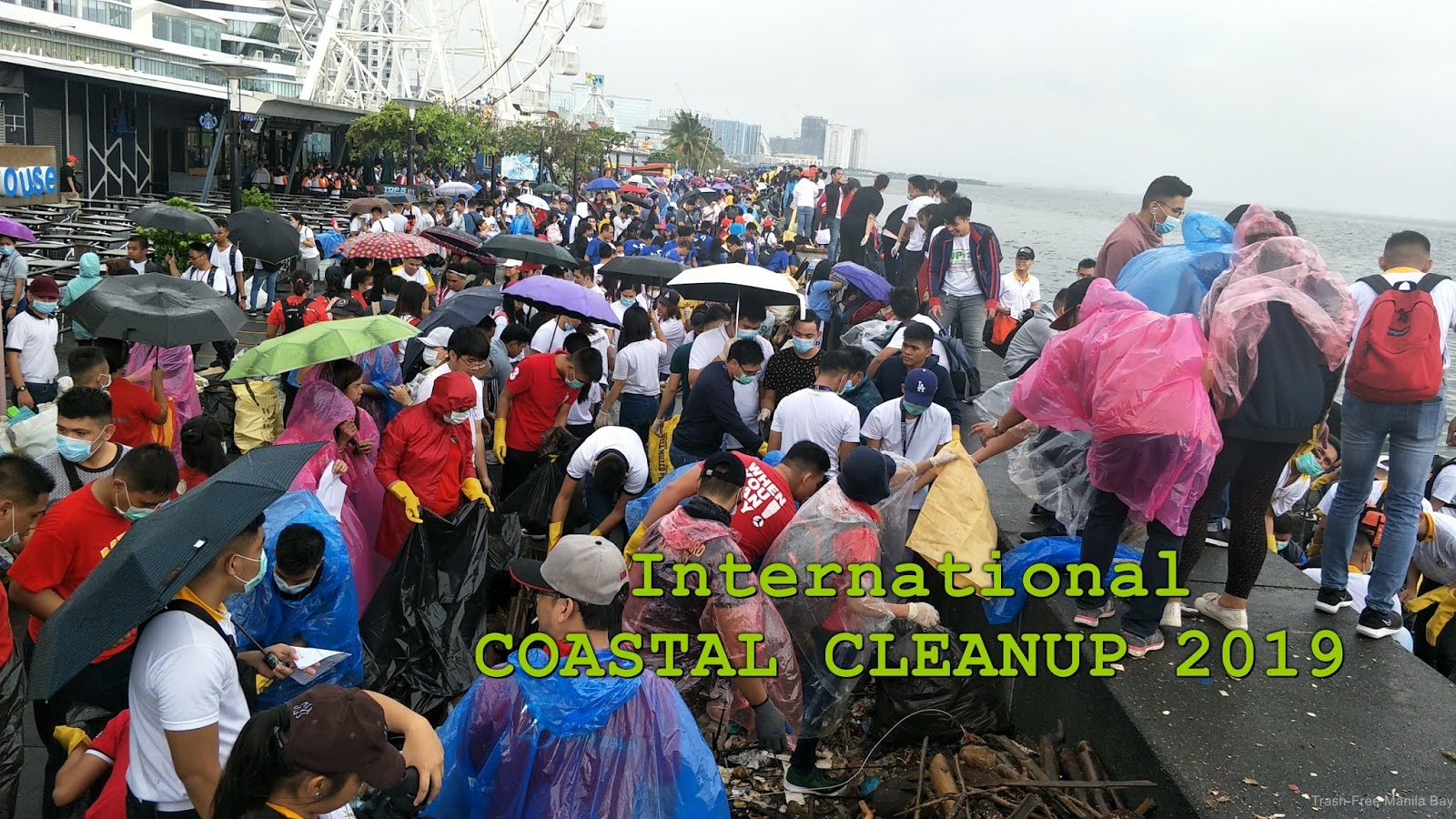 SM by the Bay | International Coastal Cleanup Day