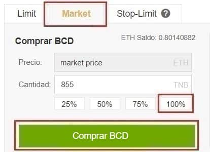 Guía Comprar Bitcoin Diamond (BCD) Euros o Dolares Fácil