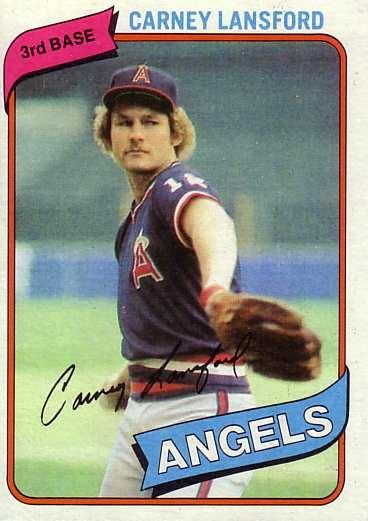 1980 Topps Baseball 337 Carney Lansford