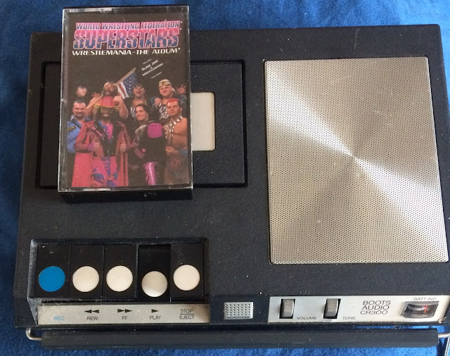 WWF Superstars - Wrestlemania - The Album (1993) on cassette
