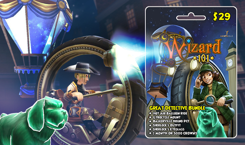 Wizard101 Great Detective Bundle Guide