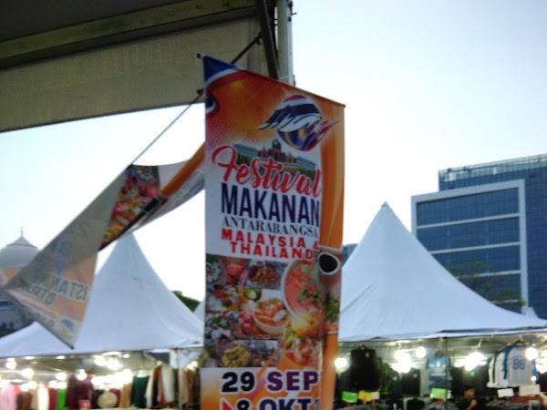Layan selera di Festival Makanan Thai Putrajaya Oktober 2017