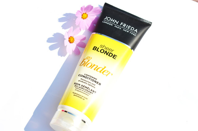 John Frieda Sheer Blonde Go Blonder Conditioner, Shampoo