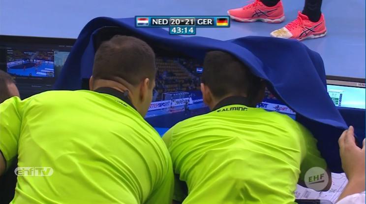 revisión video - Árbitros EHF