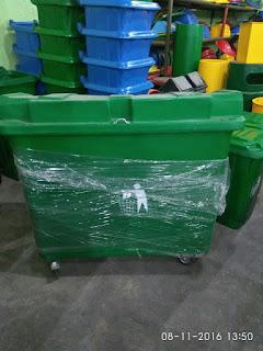 jual bak sampah fiber 600 liter