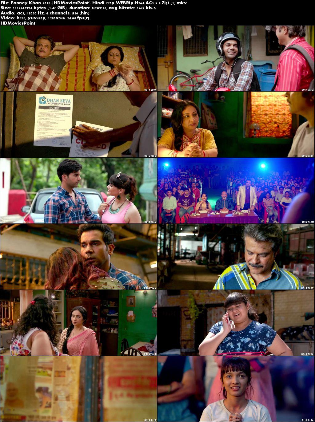 Fanney Khan 2018 Full Hindi Movie Download 720p