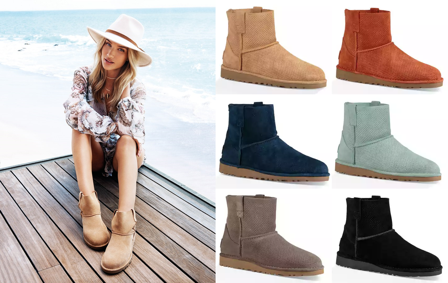 UGG offers their Classic Unlined Mini Perf on sale for $59.99 (Reg. $120). Shipping is $8. Choose from 6 colors.