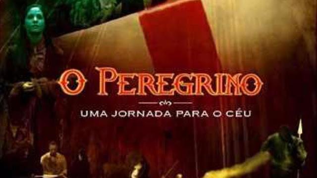 Imagem de um guerreiro com escudo... Filme O Peregrino - Uma jornada para o céu