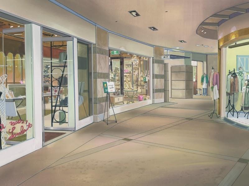 Anime Landscape Shop Anime Background