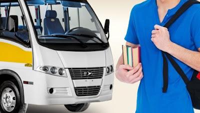Período de inscrição para uso do ônibus universitário irá de 23 a 31 de janeiro.