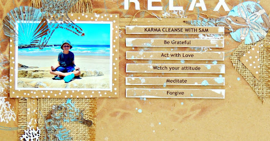Relax - Karma Cleanse by Elisa Ablett