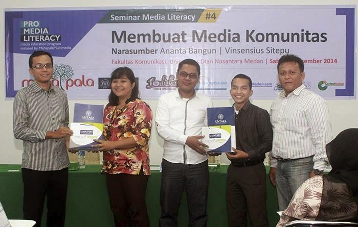 Universitas Dian Nusantara Medan Ajak Buat Pers Mahasiswa