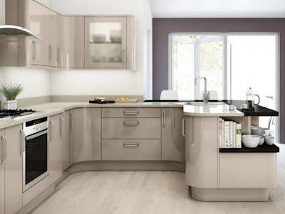 Ide Dan Inovasi Mendesain Kitchen Set