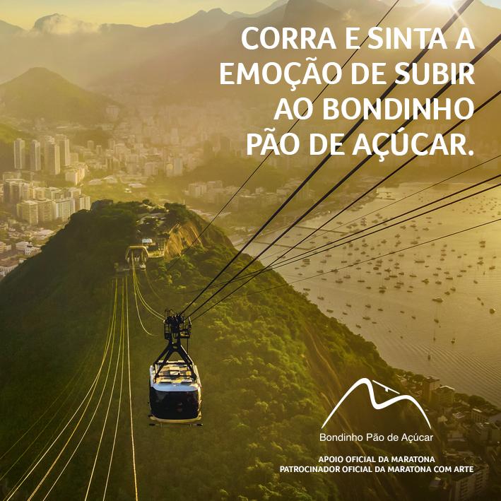 689caeeed27 Maratona do Rio e Bondinho Pão de Açúcar oferecem desconto para atração  turística