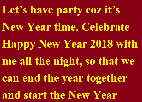 Send New Year Cards on facebook whatsapp