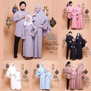 model baju lebaran keluarga modern