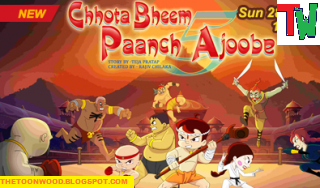 watch and download Chhota Bheem Paach Ajoobe HINDI Full Movie