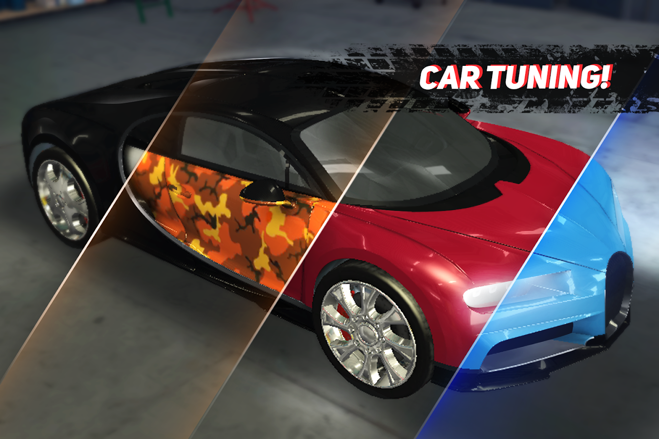 CARS Speed Racing MOD APK terbaru