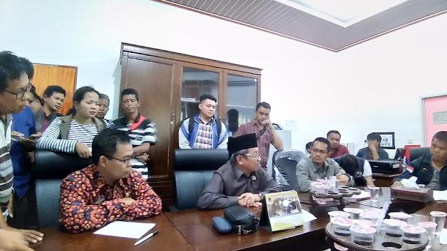 Ketua DPRD Janji Lunasi Hutang Pada Media