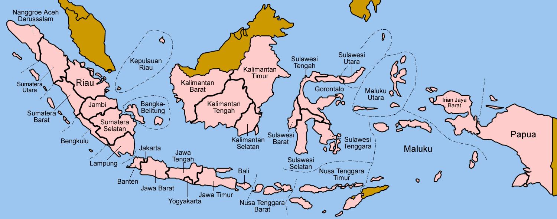 Daftar Kode Singkatan Iso Seluruh Provinsi Di Indonesia Arti Dari Lambang