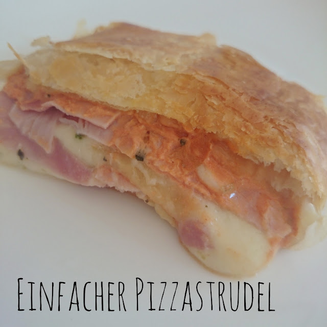 [Food] Einfacher Pizzastrudel // Easy Pizza Strudel