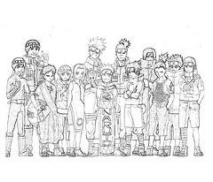 Laminas Para Colorear Coloring Pages Naruto Para Dibujar Y Colorear