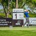 Synergyn sponsoroima golffari treenaa päästäkseen huipulle