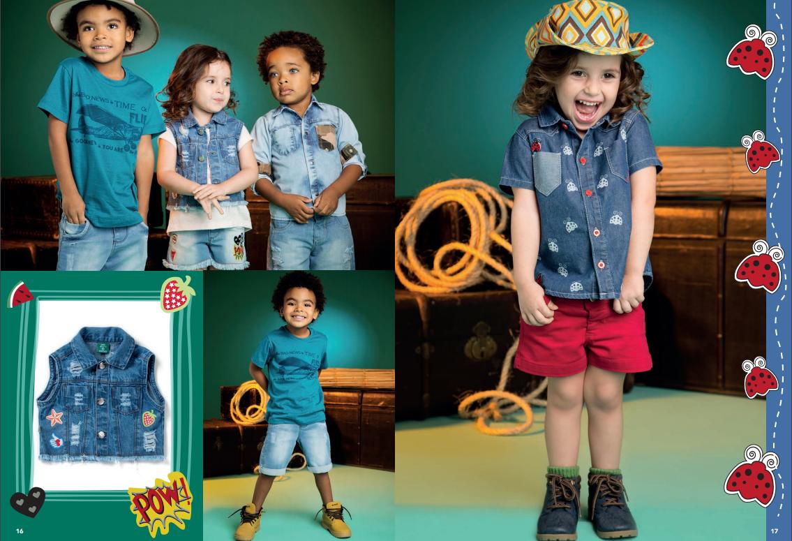... Kids apresenta para os fashionistas de plantão 711f94f1ae0