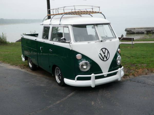1963 vw t1 double cab for sale vw bus wagon. Black Bedroom Furniture Sets. Home Design Ideas