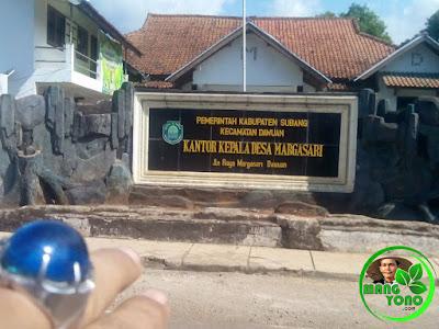 Kantor Desa Margasari, Kecamatan Dawuan. Jl. Raya Margasari Dawuan. Foto jpretan Mang Yayat Yayat Ruhiyat