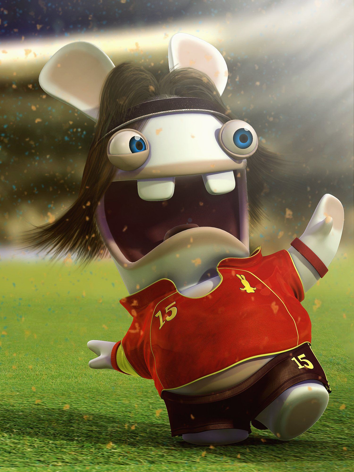 3d Golf Wallpaper For The Home Funny Rayman Raving Rabbits Hd Wallpapers Hd Wallpapers