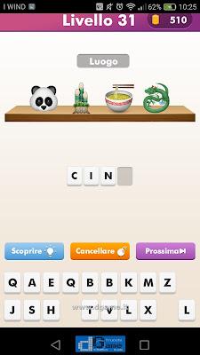 Emoji Quiz soluzione livello 31