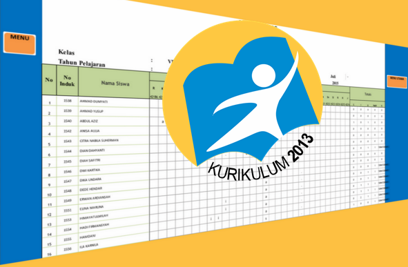 Aplikasi Jurnal Harian Kurikulum 2013 Tematik Integratif