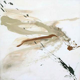 38 - Terre et sable - © Edith Smets - 120/120 - huile et sable sur toile