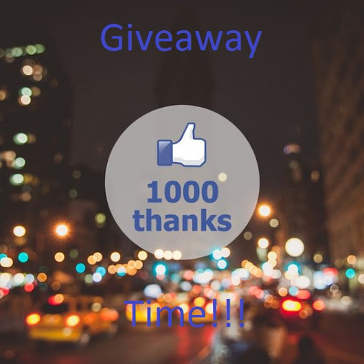 1,000 Likes Giveaway