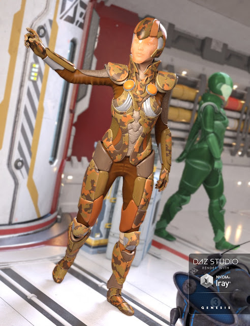 Astra Outfit for Genesis 3 Female
