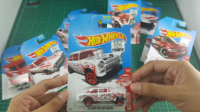 Hot Wheels Red Edition '55 Chevy Bel Air Gasser