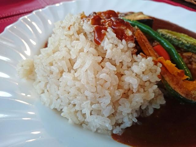 ビーフカレー 野菜添えの写真