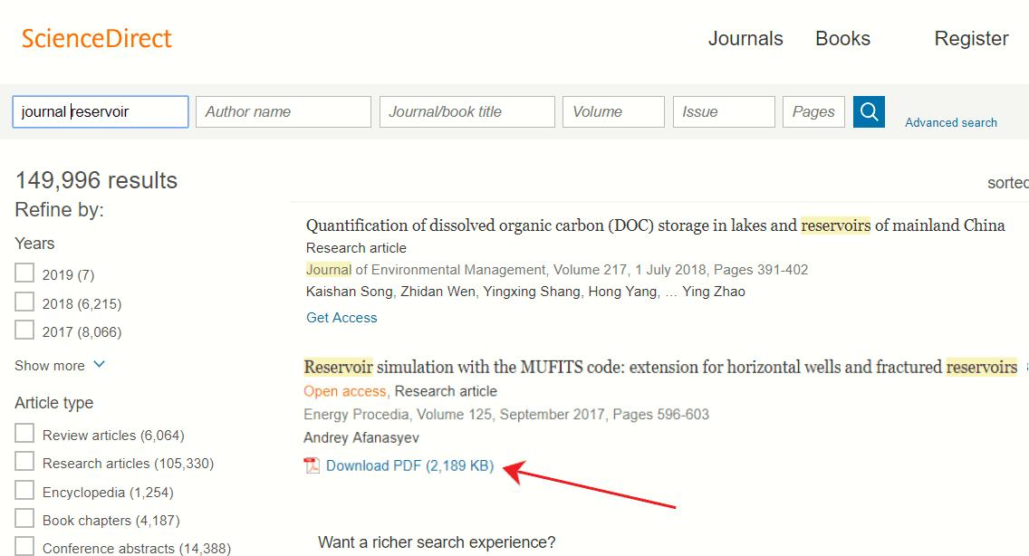 cara mudah mencari jurnal internasional gratis
