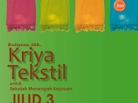 Buku Kriya Tekstil Jilid 3 SMK