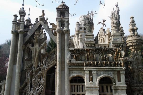 drôme hauterives palais idéal facteur cheval façade sud