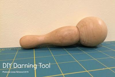 DIY Darning Tool