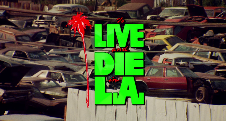 Leben und Sterben in L.A. / To Live and Die in L.A. (1985) von William Friedkin. Quelle: Screenshot Arrow Blu-ray
