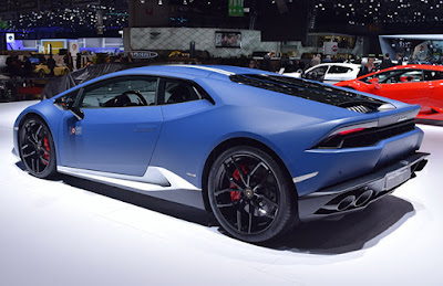 Lamborghini Huracan Avio special edition left side rear view