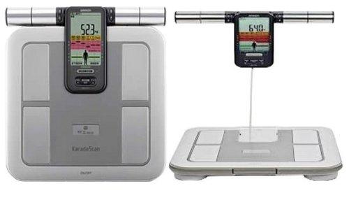 Cân sức khỏe điện tử và phân tích cơ thể Omron HBF-375.