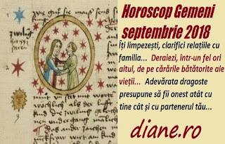 Horoscop Gemeni septembrie 2018