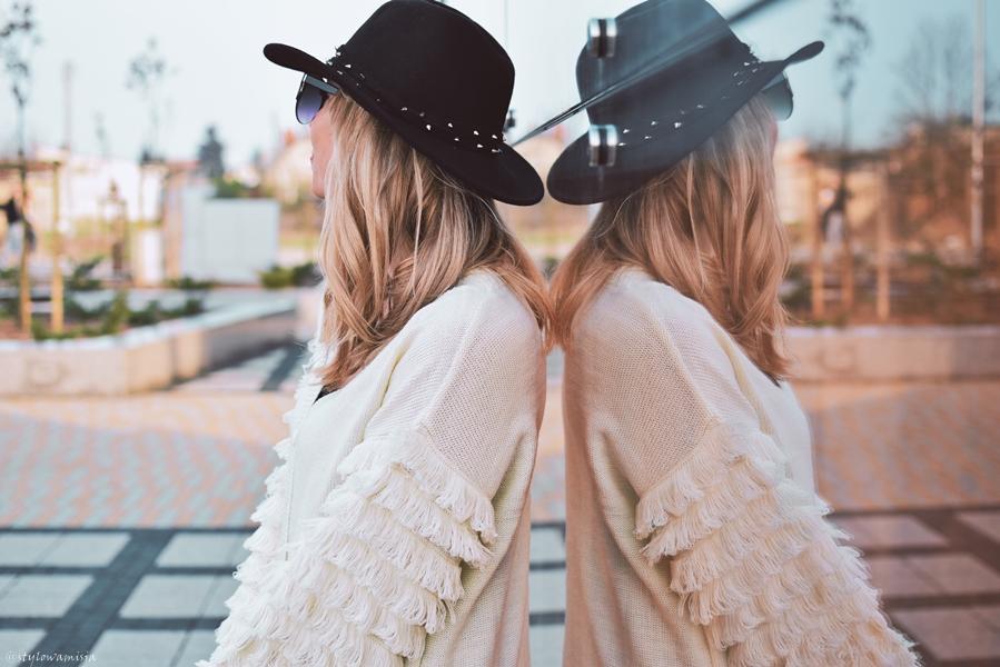 adidasy, trendybutypl, sweter, bonprix, leginsy, moda, frędzle,