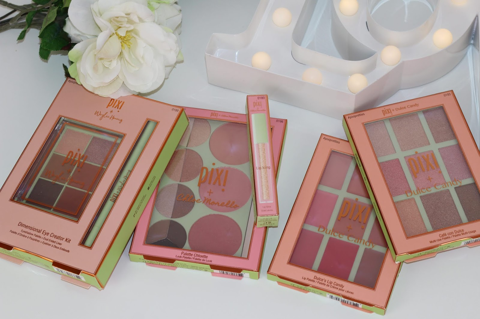 Pixi Pretties Review 2018 - Chloe Morello, Dulce and Weylie
